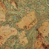 Настенная пробка Wicanders Dekwall Roots Tenerife Green 600х300х3 мм