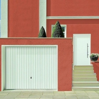 Щитовые ворота Hormann Berry Pearl 2375x2000 мм RAL 8028 коричневый
