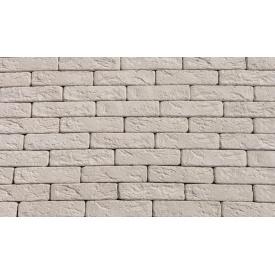 Декоративний гіпсовий цеглинка Римський 00 190x50x20 мм білий