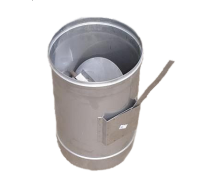 Регулятор тяги дымохода 160 мм 1 мм