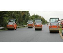 Асфальтирование дорог с применением спецтехники
