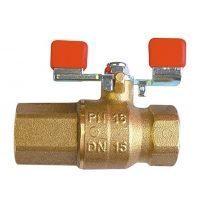Кульовий кран HERZ для питного водопостачання DN15 (1211001)