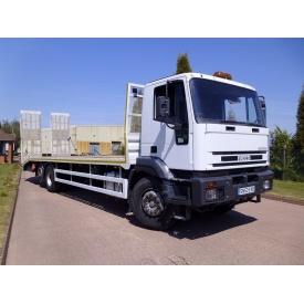 Перевезення кілець для колодязів вантажівкою IVECO EuroTech 260E27 14 т