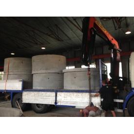 Перевозка железобетонных изделий грузовиком IVECO EuroTech 260E27