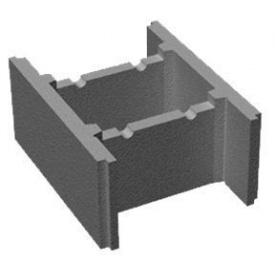 Блок фундаментый 490х390х190 мм.