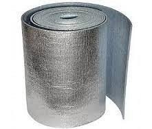 Полотно из вспененного полиэтилена фольгированное 6 мм