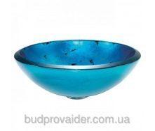 Голубая стеклянная раковина GV-204-19mm