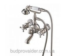 Смеситель ванной настенный с ручным душем KEF-16060 BN