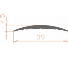 Алюминиевый порог 39x5,4/AS
