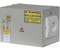 Ящик з понижуючим трансформатором ЯТП-0.25 380/24-3 36 УХЛ4 IP31 (шт.)