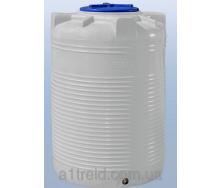 Емкость 500 литров вертикальная однослойная