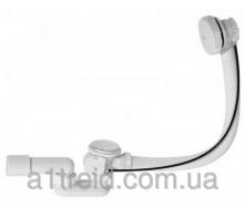 Сифон для ванны автомат комплект белый 57 см A51BM-57 Alco Plast Алька Пласт