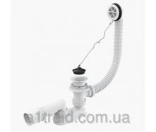 Сифон для ванны белый A502 Alco Plast Алька Пласт