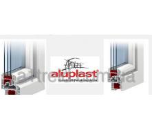 Окно 1300*1400 Стандарт (4-10-4-10-4 тройной стеклопакет) Aluplast 4000