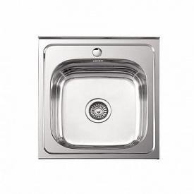 Мойка накладная Platinum 50x50