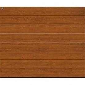 Ворота гаражные секционные Hormann RenoMatic light 2750х2250 мм Golden Oak decocolor