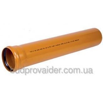 Труба ПВХ Мпласт 200x3,9 мм 1 м