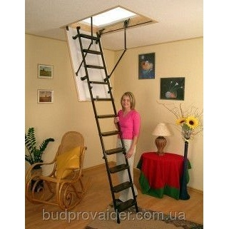 Складная чердачная лестница Oman Metal T3