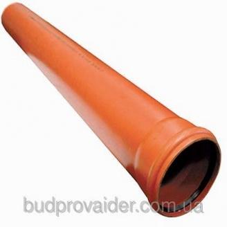 Труба ПВХ Мпласт 160x3,2 мм 6 м