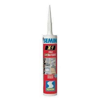 Мастика клей SEMIN X1 универсальный в тюбе 290 мл