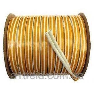 Уплотнитель самоклеющийся P, 100м, коричневый Ущільнювач самоклеючий P, 100м, коричневий