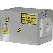 Ящик з понижуючим трансформатором ЯТП-0.25 380/12-3 36 УХЛ4 IP31 (шт.)