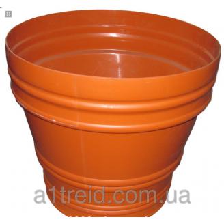 Вазон 80 литров горшок Радуга