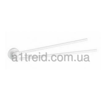 Держатель для полотенца рога Haceka Kosmos White 402811 Хасеке Космос Уайт