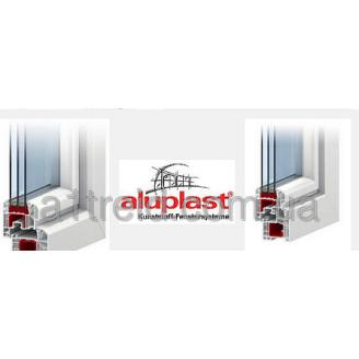 Окно 2100*1400 Стандарт (4-10-4-10-4 тройной стеклопакет) Aluplast 4000