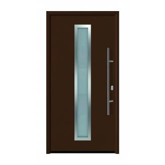 Двери входные Hormann Thermo 65 700A RAL 8028 коричневый