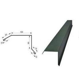 Ветровая планка 0,5 мм 2 м