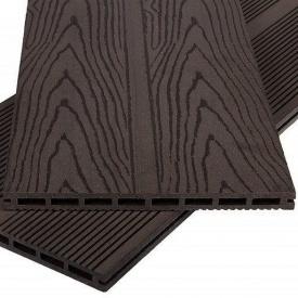 Террасная доска Polymer&Wood Privat 20x284x2200 мм венге