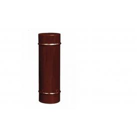 Труба дымохода из нержавеющей стали в кожухе с покрытием 180x1000 мм