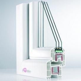 Металлопластиковое окно REHAU Brilliant-Design 1300x1400 мм