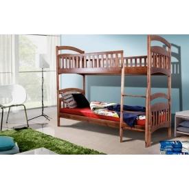 Двоярусна дерев'яна ліжко Кіра Мікс-Меблі з 800х2000 мм трансформер