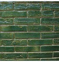 Клинкерный кирпич ручной формовки St.Joris GR-30 210x100x50 мм зеленый