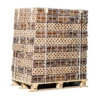 Опилочный топливный брикет дубовый 1,3 г/см3 50х50х300 мм