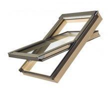 Мансардное окно FAKRO PTP-V/PI U3 вращательное влагостойкое 66x118 см