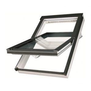 Мансардное окно FAKRO PTP-V U3 вращательное влагостойкое 55x98 см