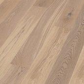Паркетна дошка BOEN Plank однополосная Дуб Animoso браширована 2200х209х14 мм вибілена масло