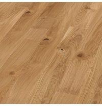 Паркетная доска BOEN Plank однополосная Дуб Vivo небрашированная 2200х138х14 мм масло