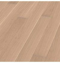 Паркетна дошка BOEN Plank однополосная Дуб Andante небраширована 2200х209х14 мм вибілена масло
