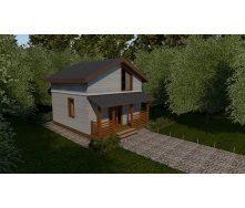 Строительство каркасного дома Compact_007