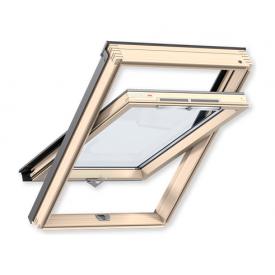 Мансардне вікно VELUX Оптима GZR 3050B CR04 дерев'яне 550х980 мм