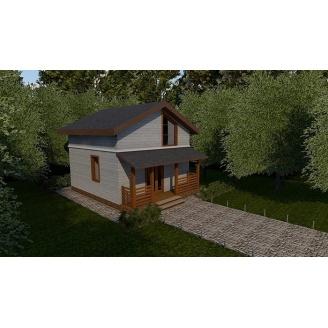 Будівництво каркасного будинку Compact_007