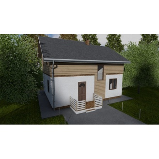 Будівництво каркасного будинку ТК_Весенний