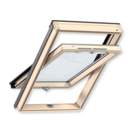 Мансардне вікно VELUX Оптима GZR 3050B МR08 дерев'яне 780х1400 мм