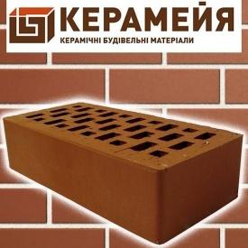 Клинкерный кирпич Керамейя Классика Рубин 250x120x65 мм красный