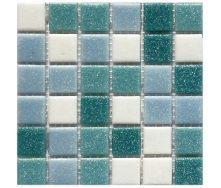 Мозаїка, скляна, Stella di Mare R-MOS A40443011 на сітці 327x327x4 мм