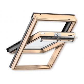 Мансардное окно VELUX PREMIUM GGL 3070 PK08 деревянное классическое 940х1400 мм